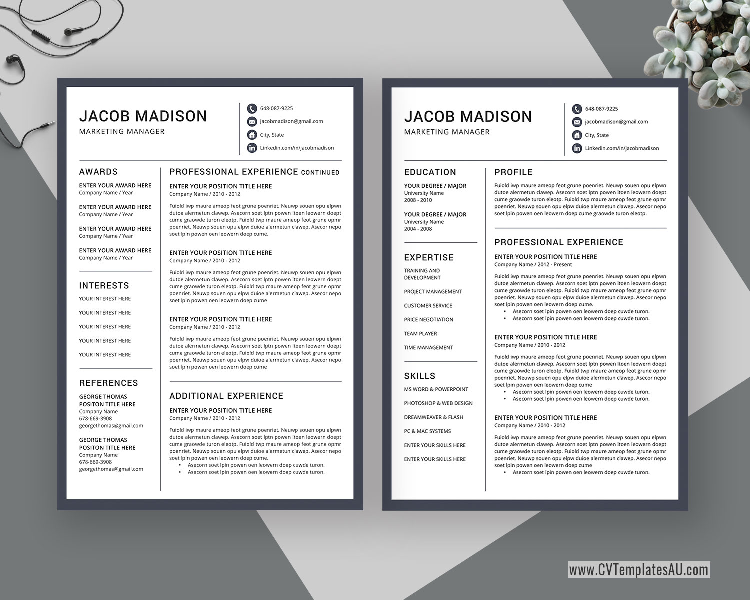 These Professional And Creative Cv Templates Can Help You Stand