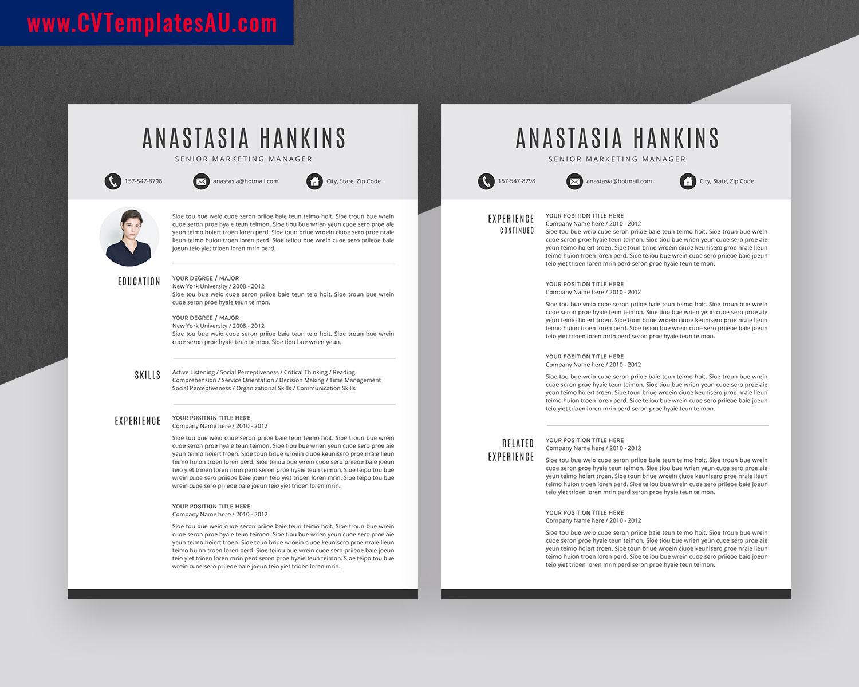 Professional Cv Templates Bundle Modern Resume Templates Design