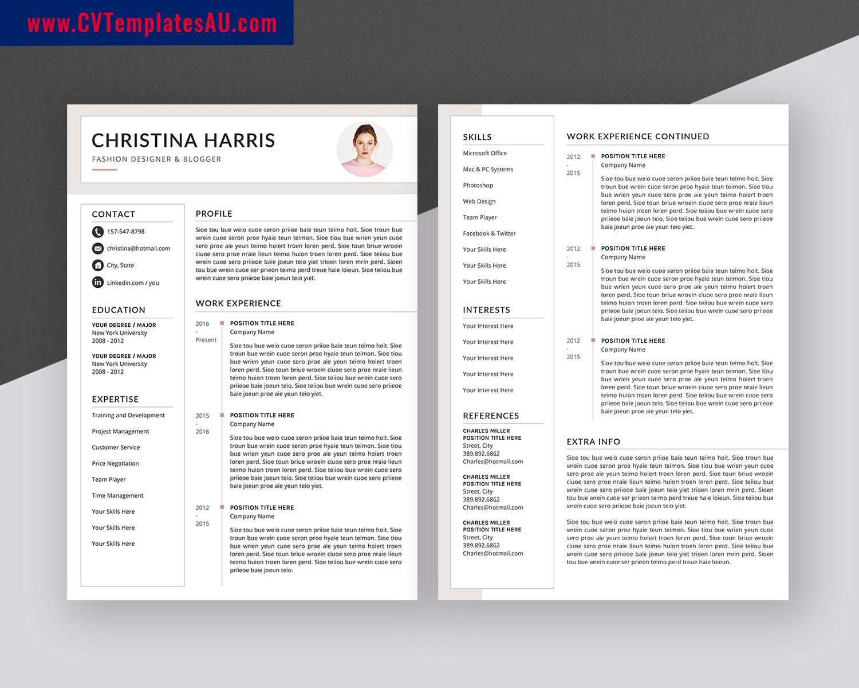 Creative CV Templates Bundle, Modern Resume Templates ...